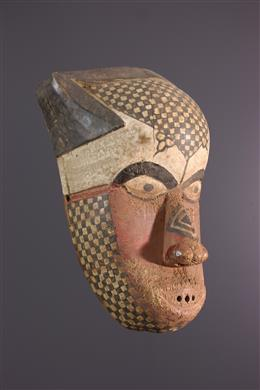 African art - Masque Kuba / Nkutshu