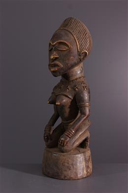 Female figure Kongo Yombe Phemba