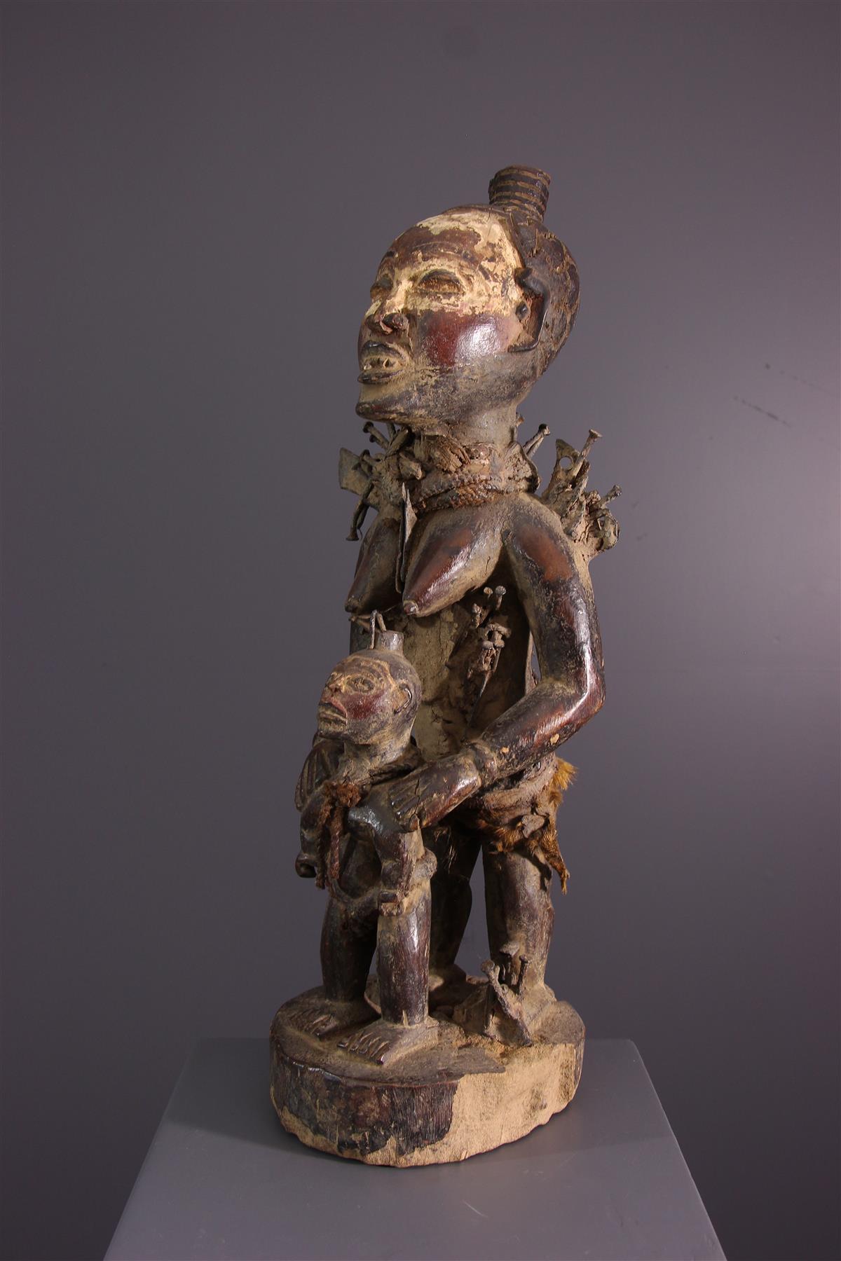 Kongo statue - African art