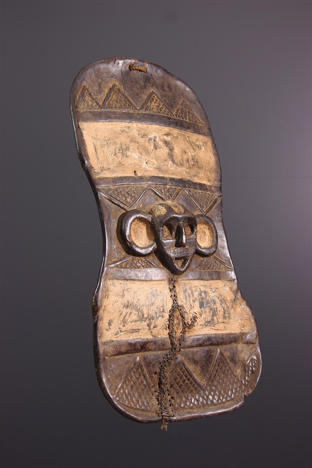 Boa Shield - African art