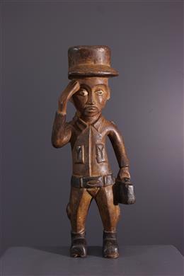 African art - Kongo settler statuette