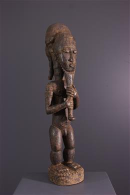 African art - Statue Baule Waka sona