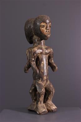 African art - Lega initiation figure of Bwami