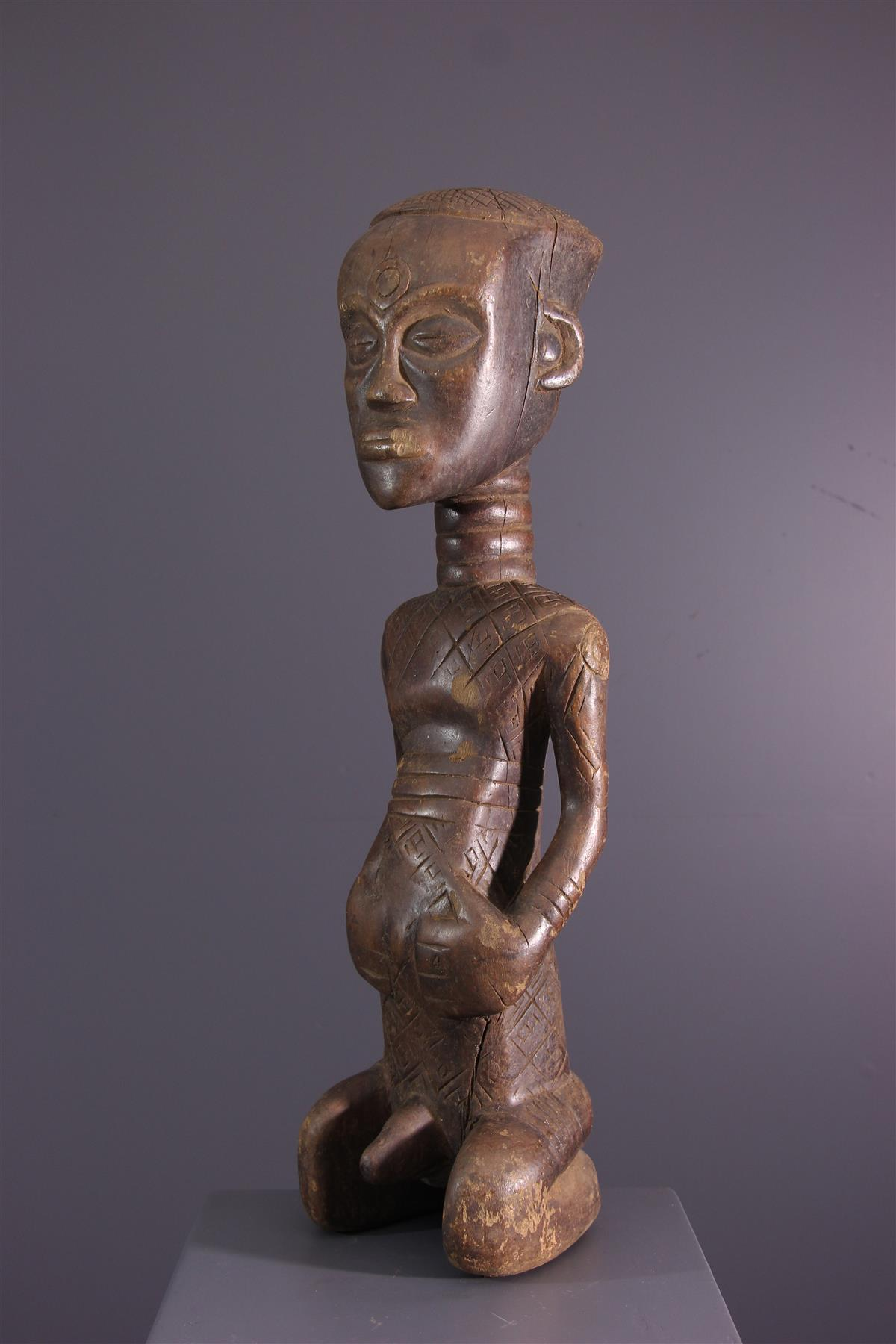Statue Dengese - African art