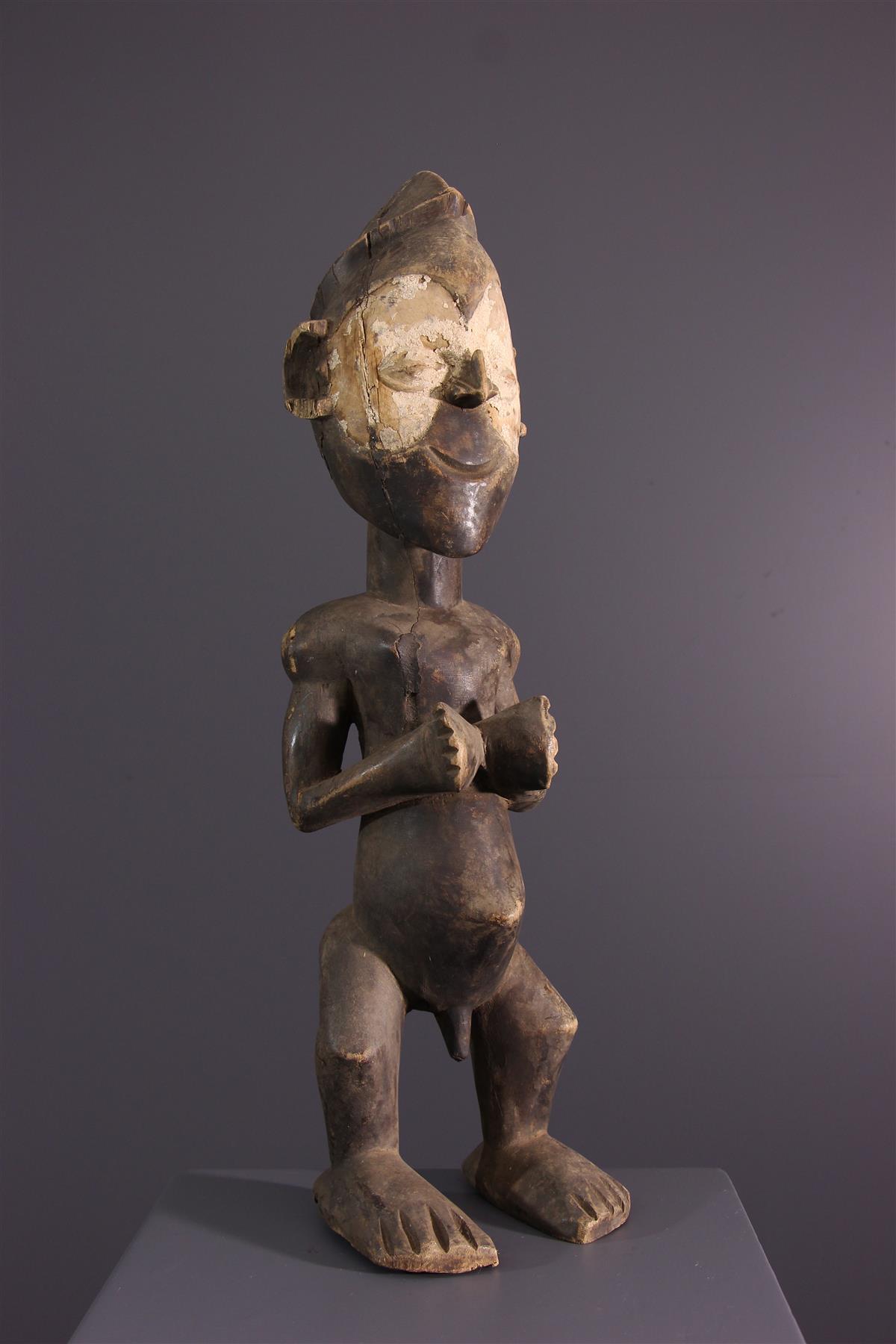 Statue Zombo - African art