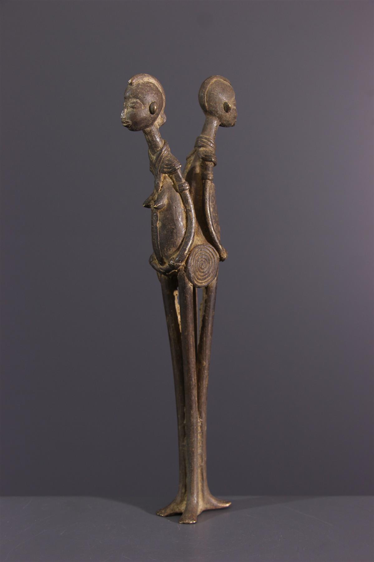 Lobi bronze - African art