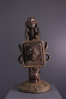 African art - Chokwe Box, Tschokwe