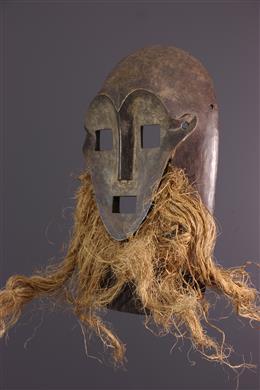 African art - Masque Kumu, Komo, Nsembu