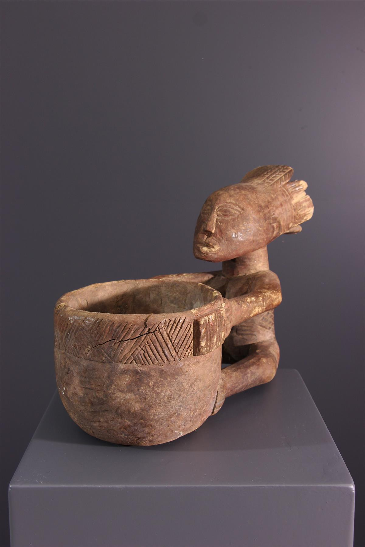 Statue Luba - African art