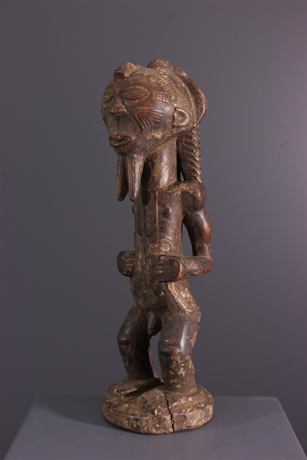 Statue Lulua - African art