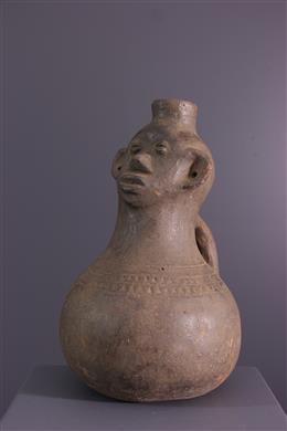 African art - Jar anthropomorphic Zande, Azande