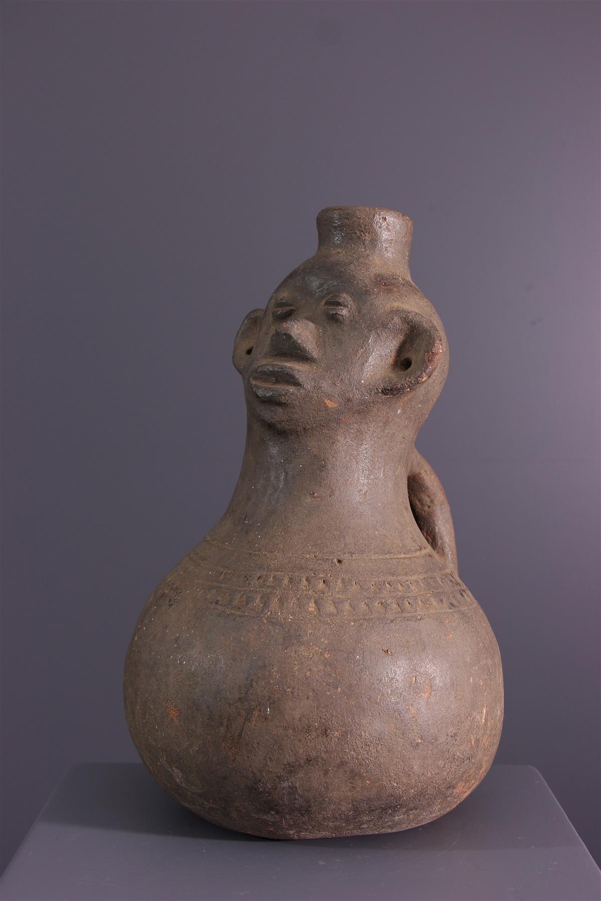 Pottery Zande - African art