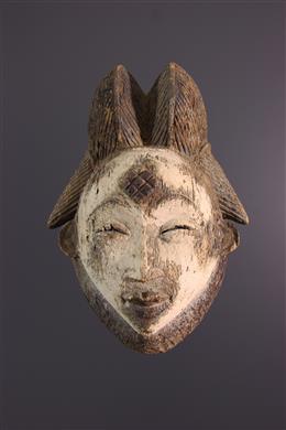 African art - Punu mask of the Okuyi