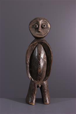 African art - Lega statuette of the Bwami