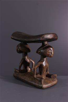 African art - Luba neck support