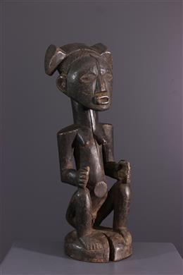 African art - Female figure Luba/Zela