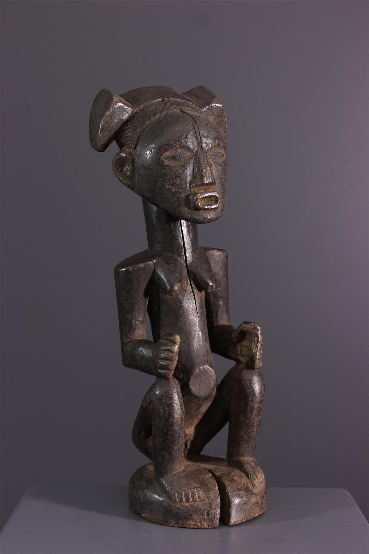 Statue Zela - African art
