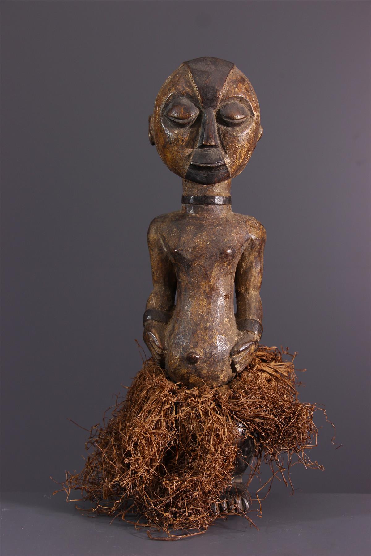 Statue Okuyi - African art