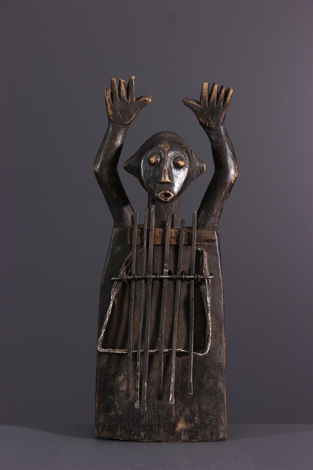 Sanza Zande - African art