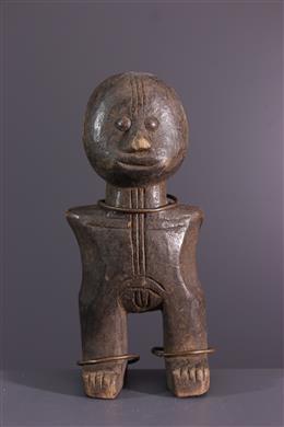 African art - Zande fetish statuette