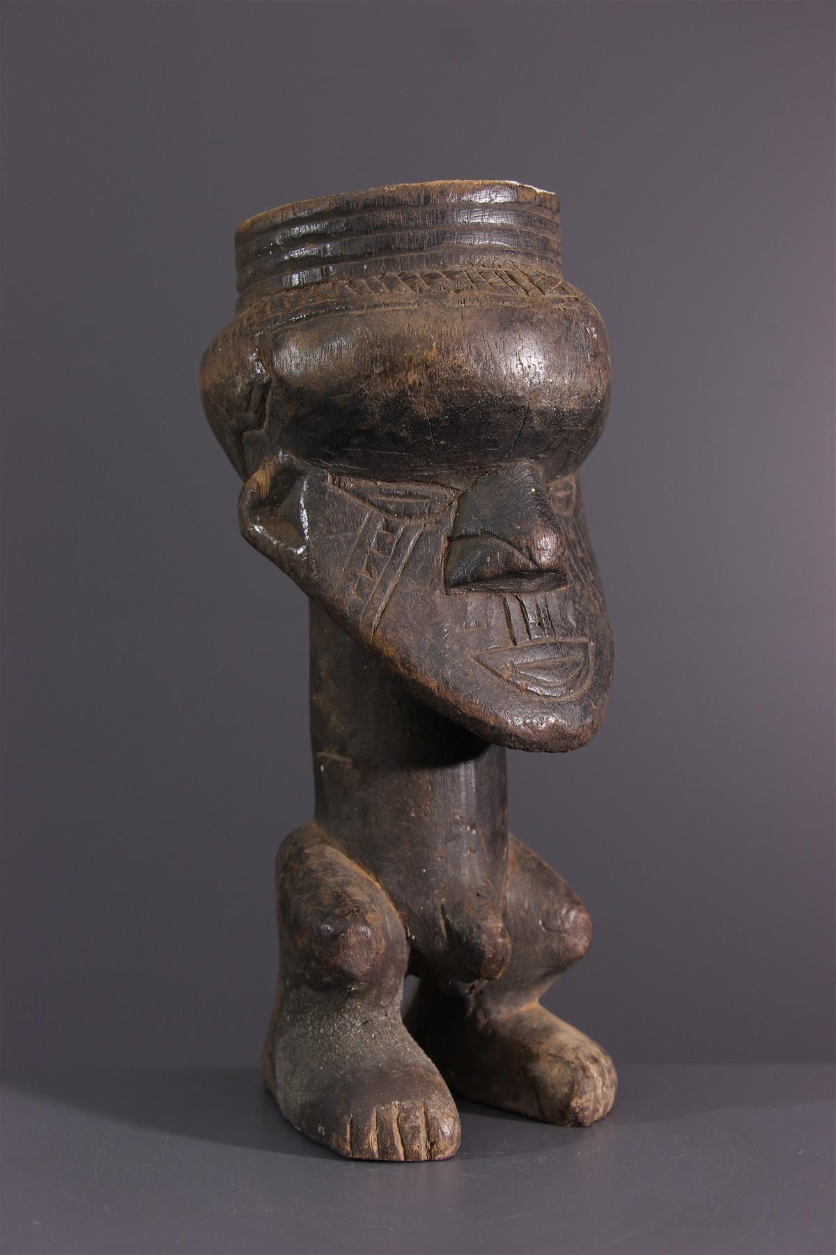 Kuba cup - African art