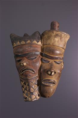 African art - Pende double mask