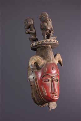 African art - Baule Mask