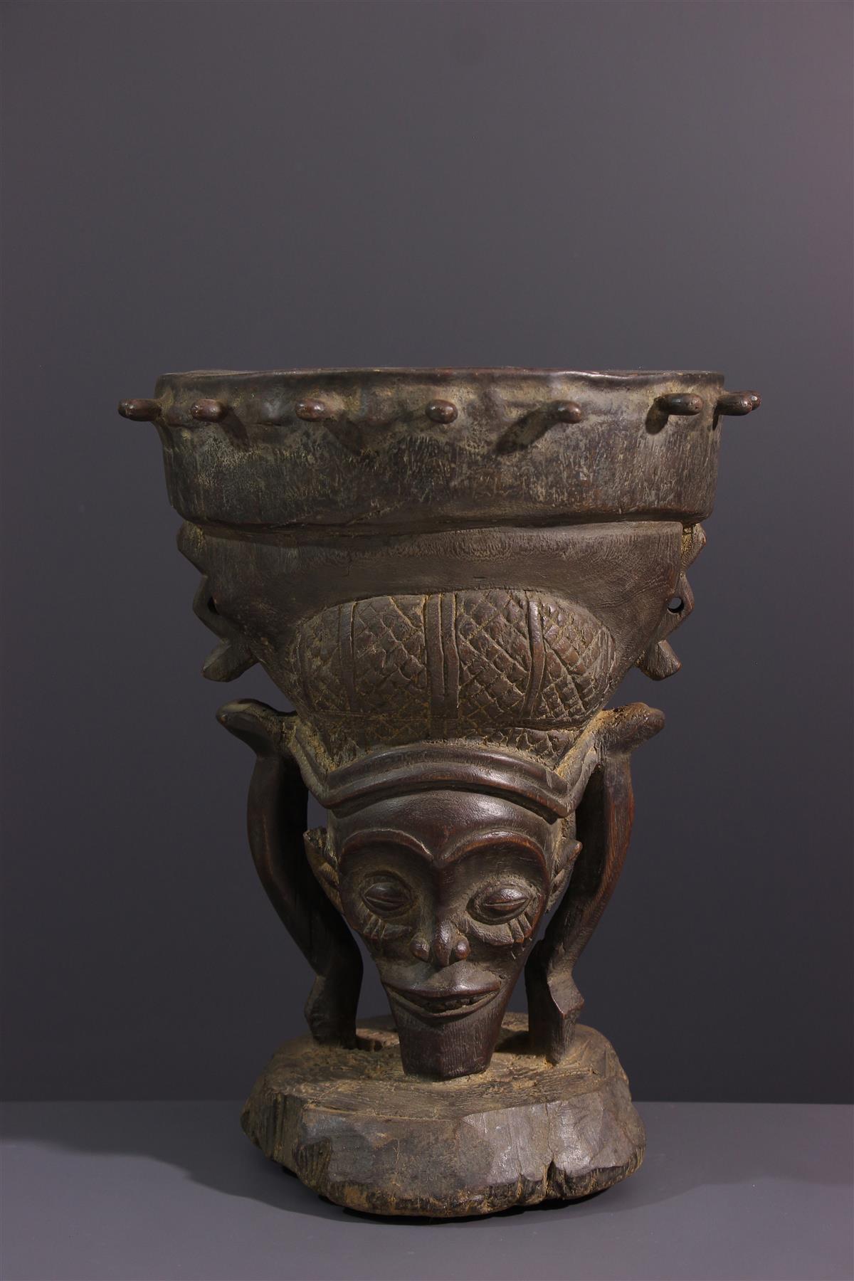 Chokwe Drum - African art