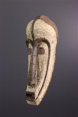 African art - Large Fang mask of the Ngil
