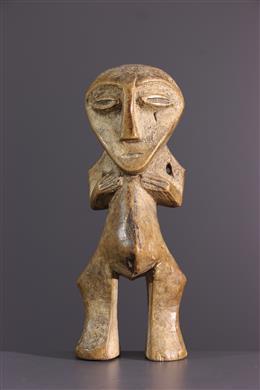 African art - Lega initiation figure of the Bwami
