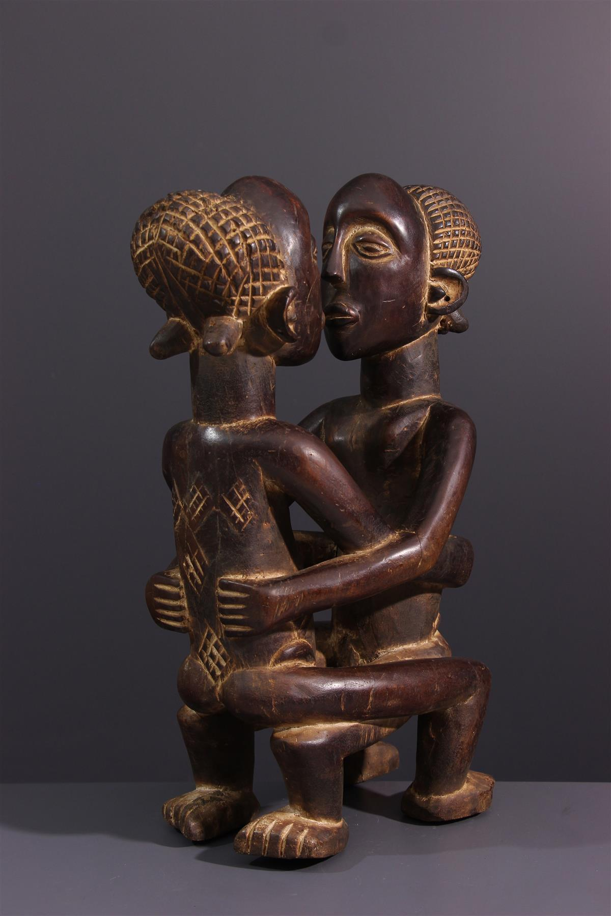 Couple Kanyok - African art