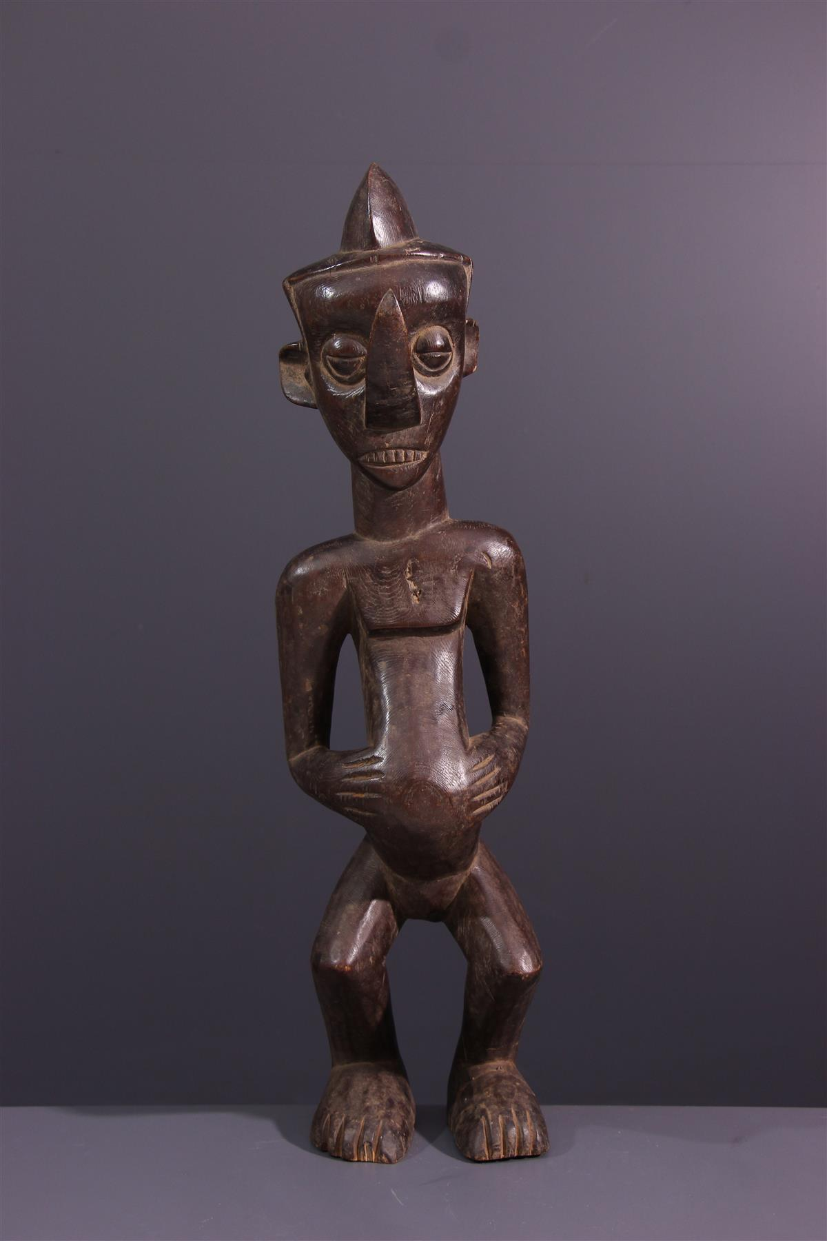 Statue Yaka - African art