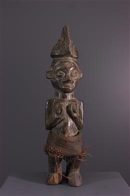 African art - Statuette Yaka Yiteke