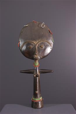 African art - Akua ba Ashanti doll from Ghana