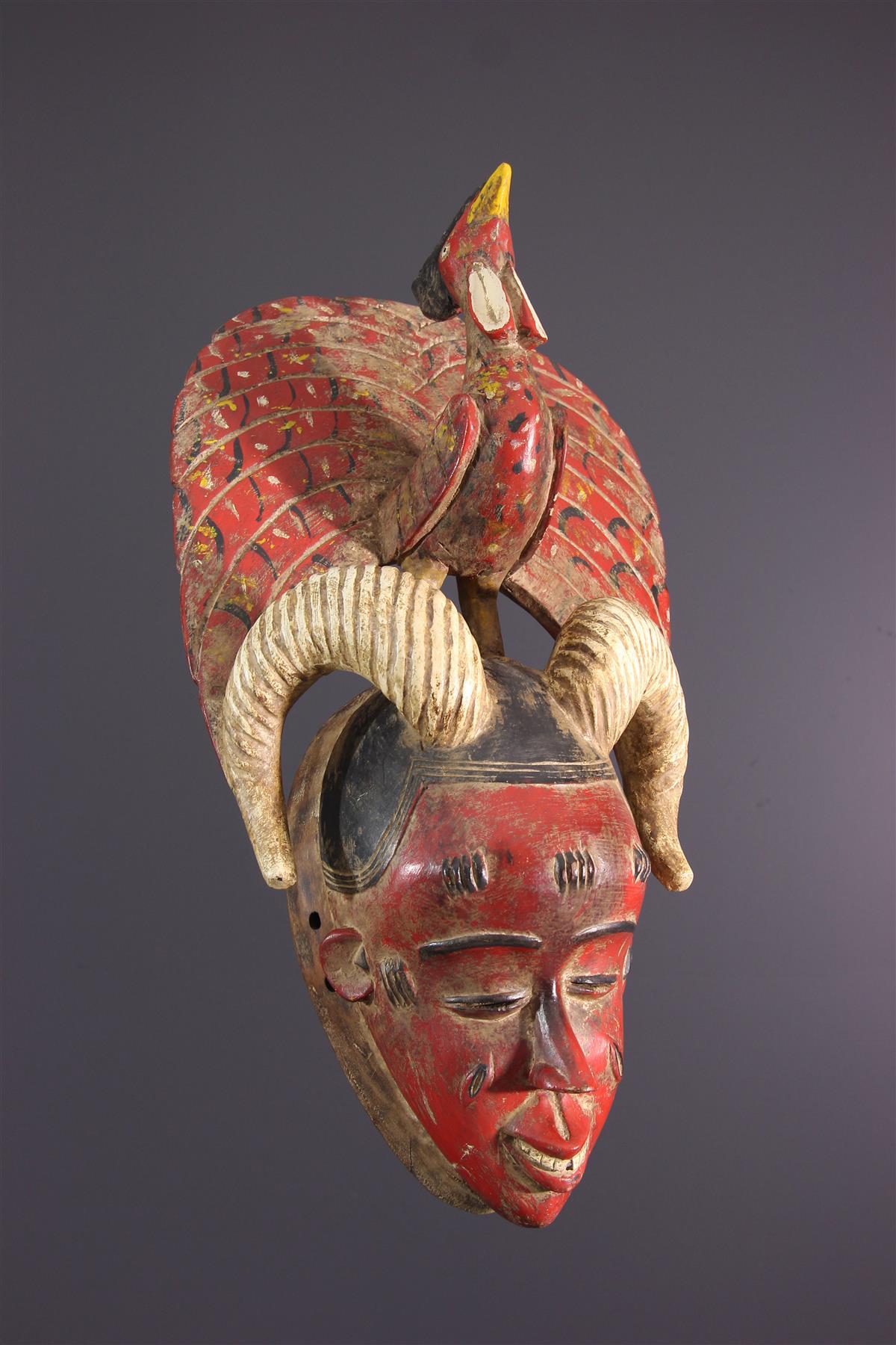 Gouro Mask - African art