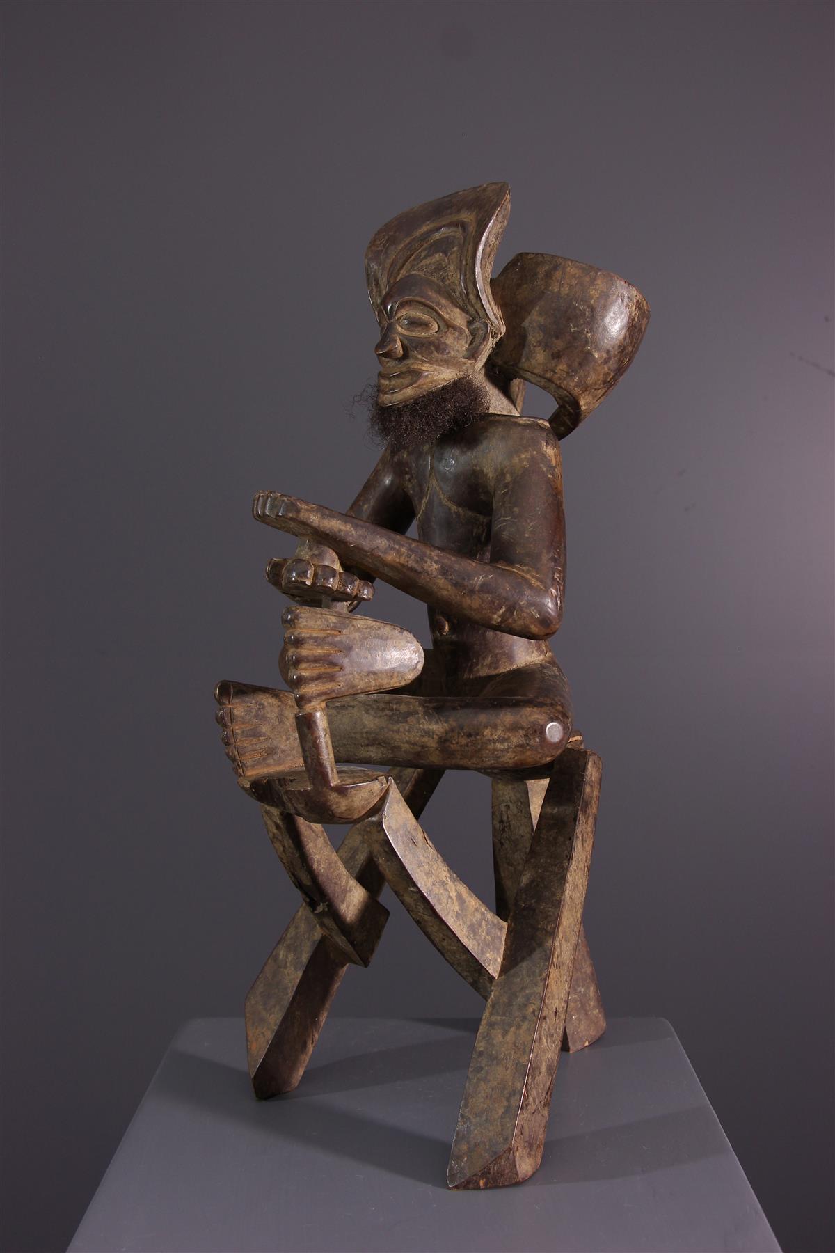 Statue Chokwe - African art