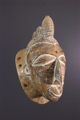 African art - Attié Mask, Akyé from Côte dIvoire