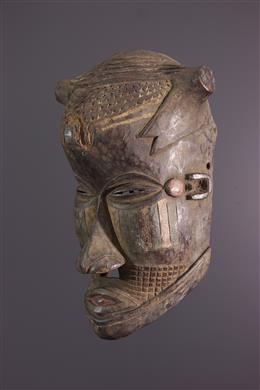 African art - Masque Kuba Bushoong Bwoom