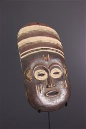 Masque africainLele mask