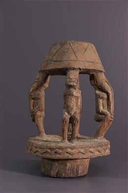 Dogon Caryatids Cup