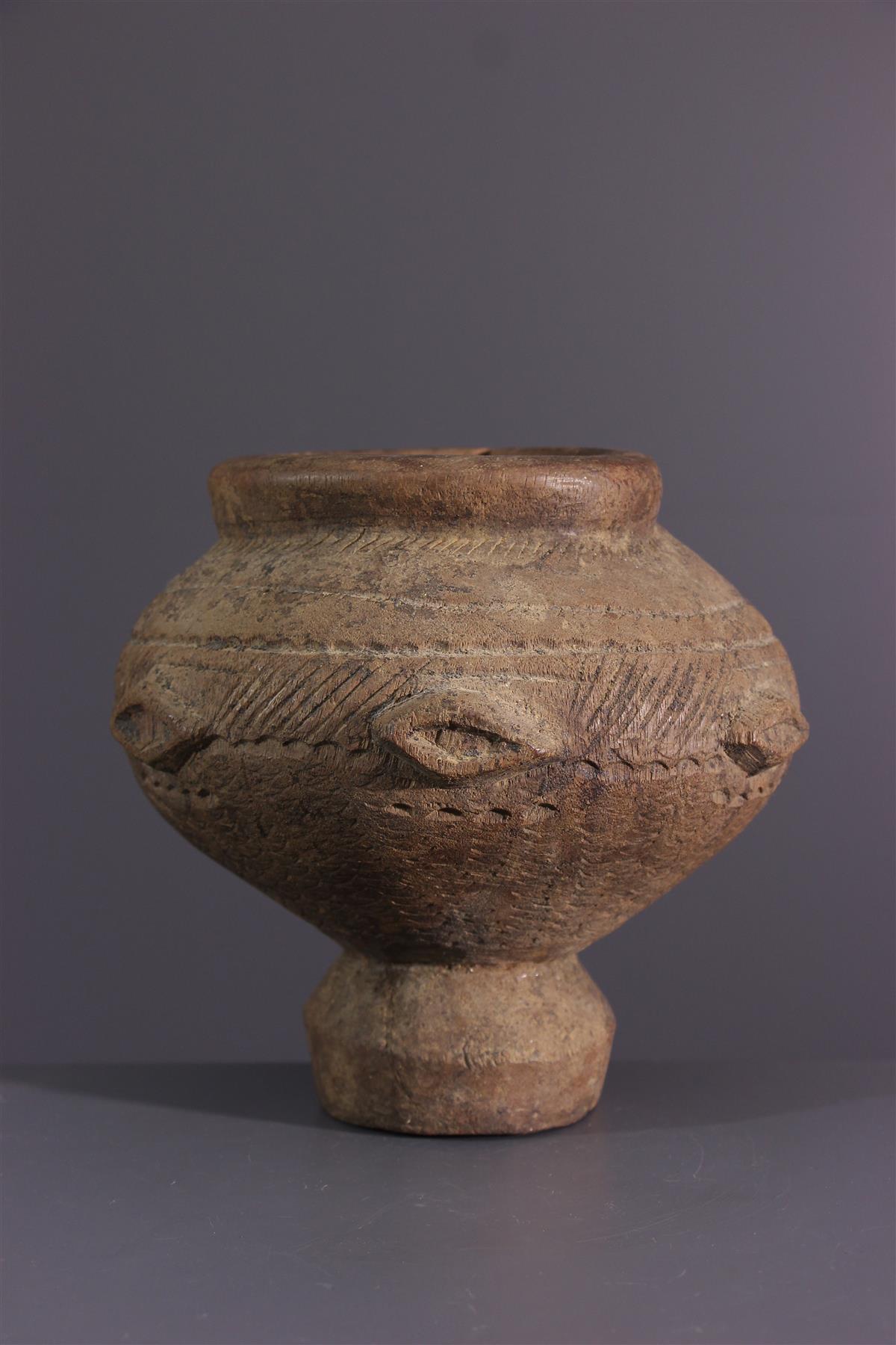 Vase Dogon - African art