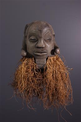 African art - Mask Luba Mukisi a kukaya