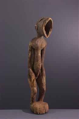 African art - Figure of monkey Amuin Baule, Baoulé