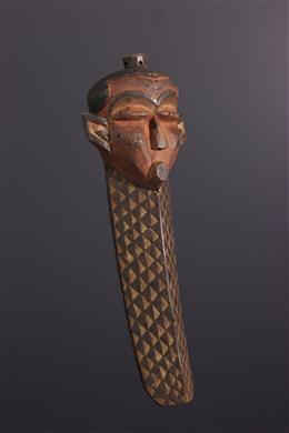 African art - Mask Pende Giwoyo, Kiwoyo, Muyombo