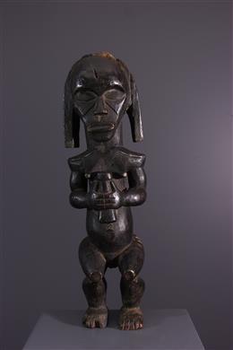 African art - Figure of ancestor of reliquary Byeri Fang