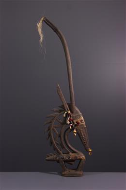 African art - Crest mask Ci wara kun Bambara