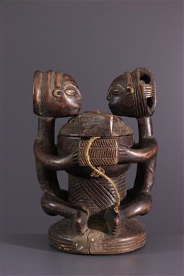 African art - Luba Kiteya Royal Figurative Cup
