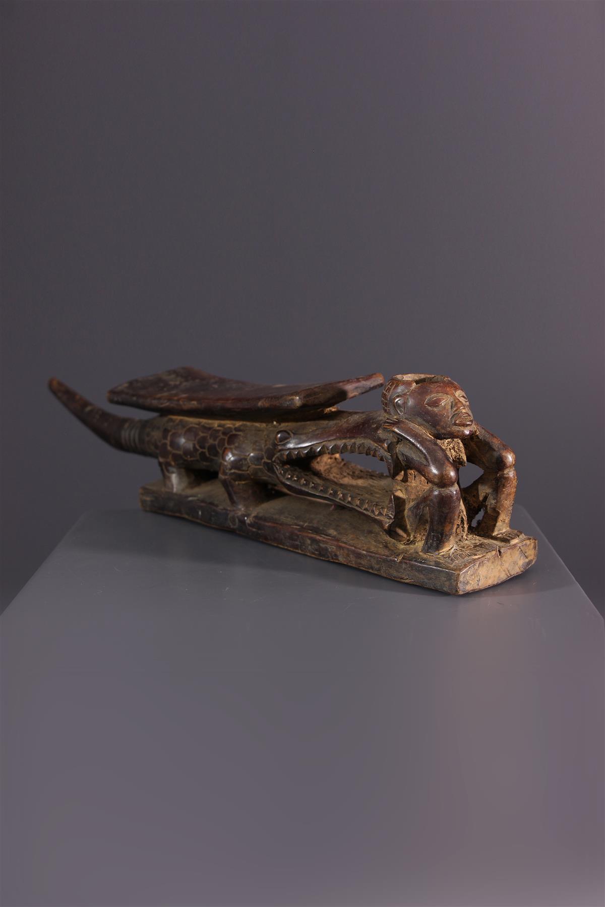 Tabwa pipe - African art