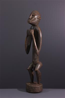 African art - Figure of monkey Gbékré Senoufo