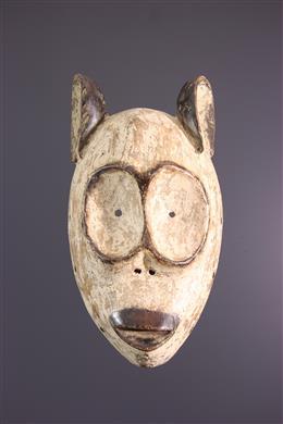 African art - Bembe Nkaku initiation mask ya butende